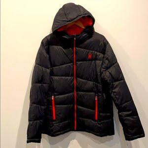NEW Spyder Men's Puffer Coat